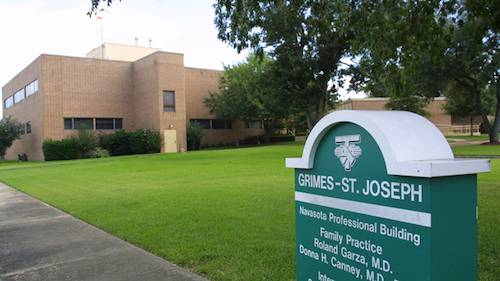 Photo of CHI St. Joseph Health Grimes Hospital