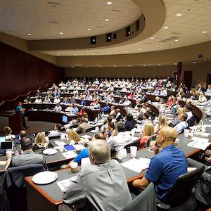 Photo of USACS' Orientation Session