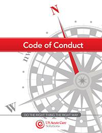 USACS Code of Conduct Cover
