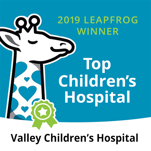 Valley Children's - 2019 Leapfrog Winner